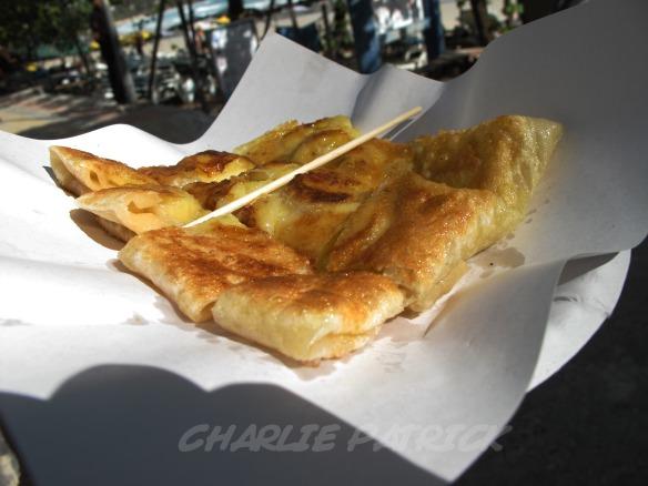 Thai style roti - the best damn banana pancake you've ever tasted