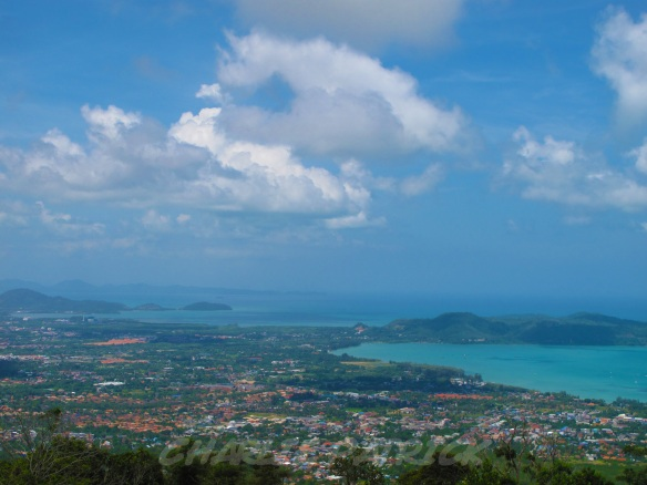 The Big Buddha's location has some of the most sweeping views of Phuket you could imagine.
