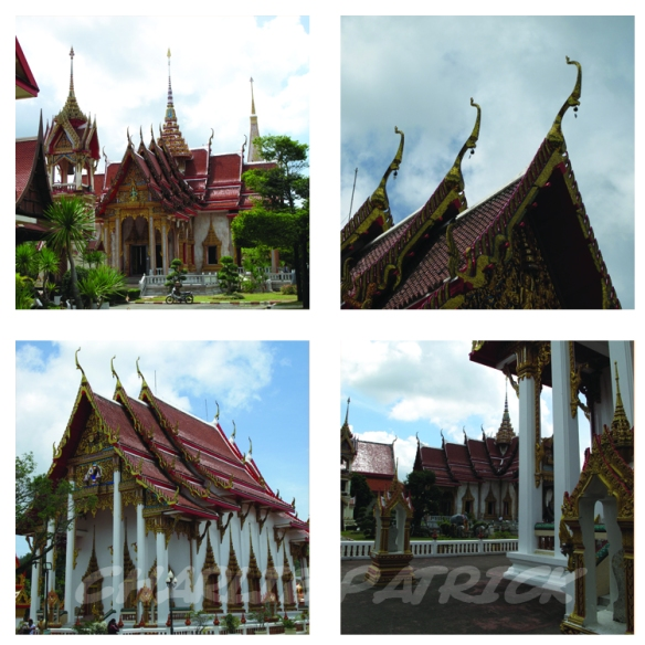 Wat Chalong is a stunningly beautiful temple complex