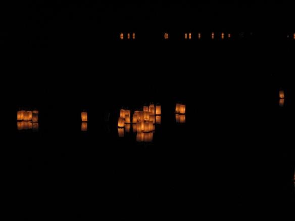 Bon festival lanterns