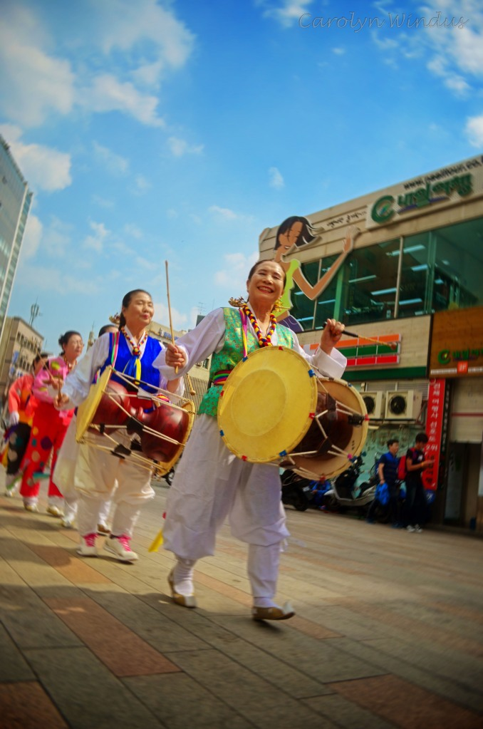 Samulnori Troupe in Downtown Daegu
