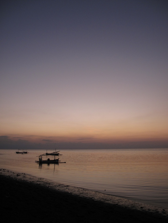 Lovina, Bali waterfront