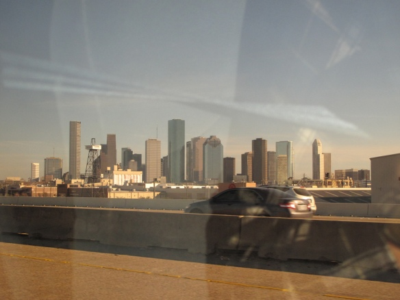 We visited the U.S. for our winter vacation, not a lot of photos but I really like this one of the Houston skyline.