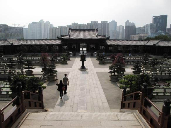 Chi Lin Nunnery lotus garden, Hong Kong