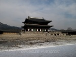 Gyeongbokgung in winter