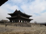 Gyeongbokgung palace courtyard