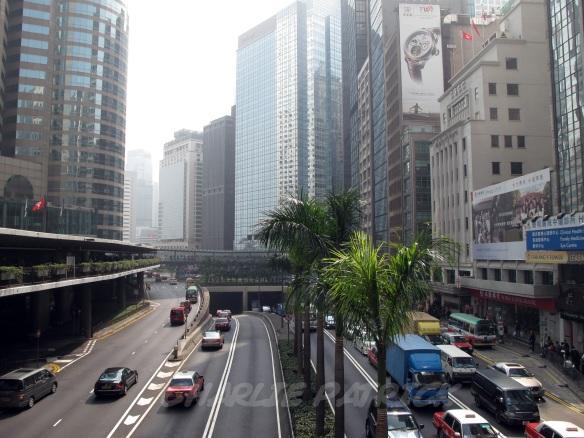 Hong Kong Central district morning hustle