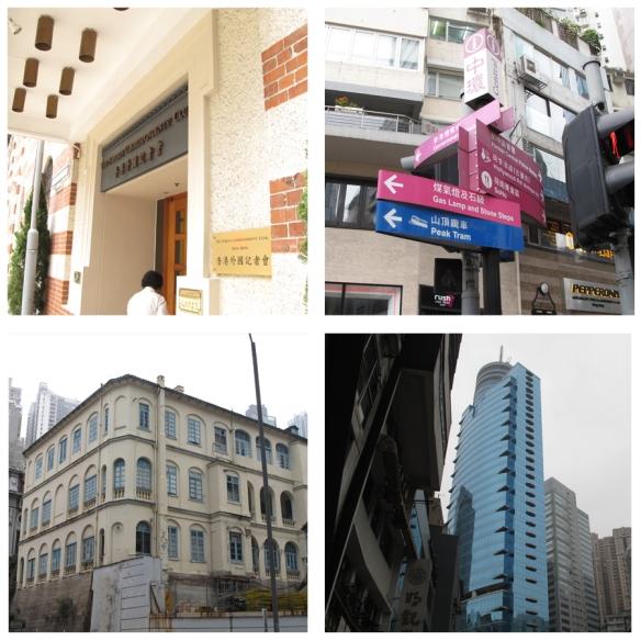 Lan Kwai Fong street scenes