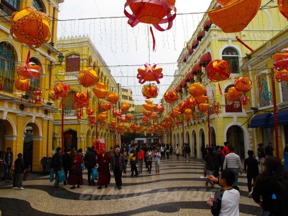 Macau - Avenida Ribiero