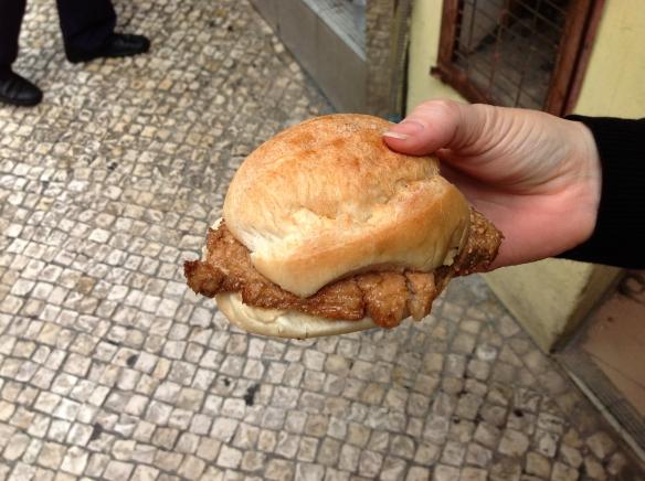 Macau - Pork Chop Bun