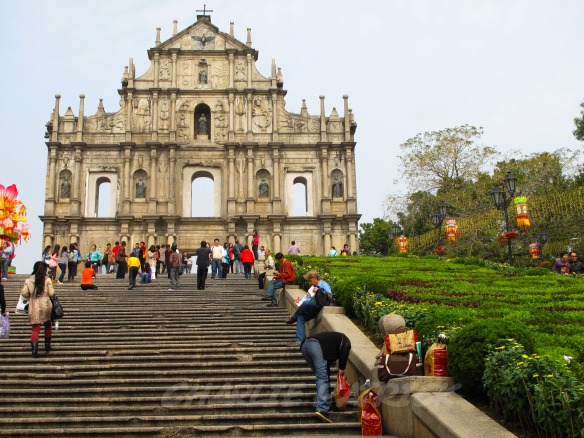 Macau - Ruins of St Paul's