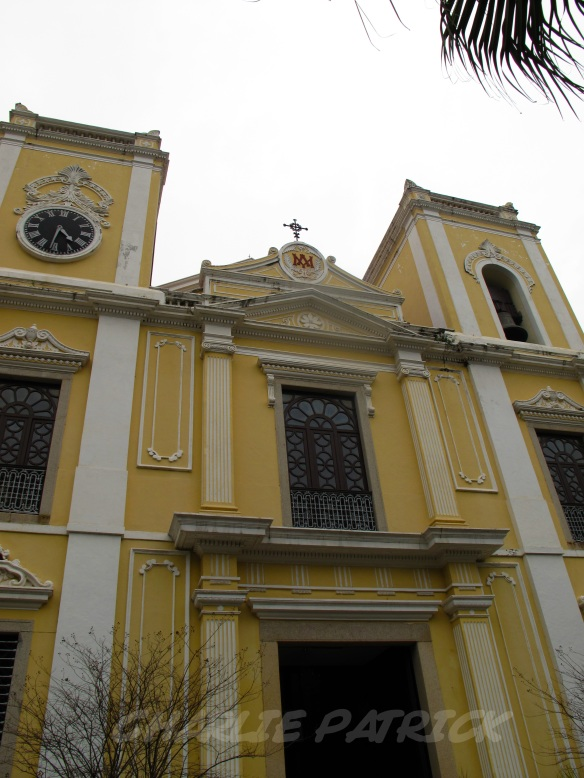 Macau - St Laurence Church exterior