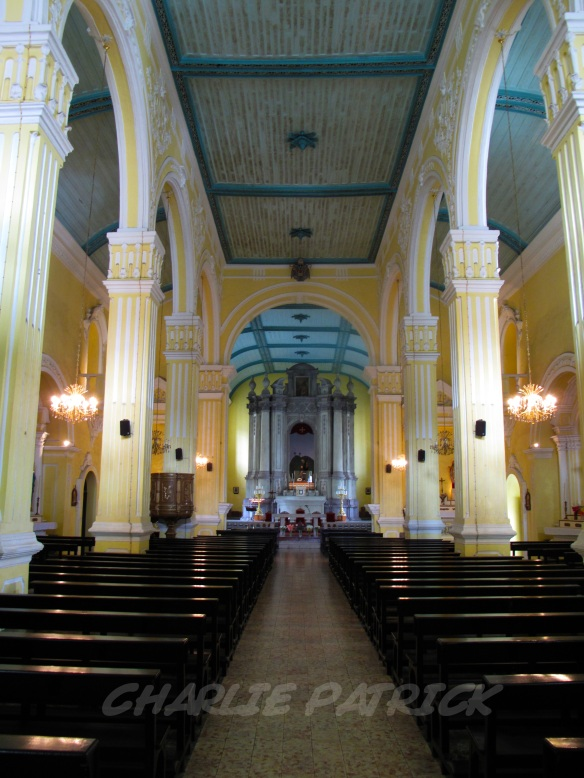The interior of St. Augustine's Church.