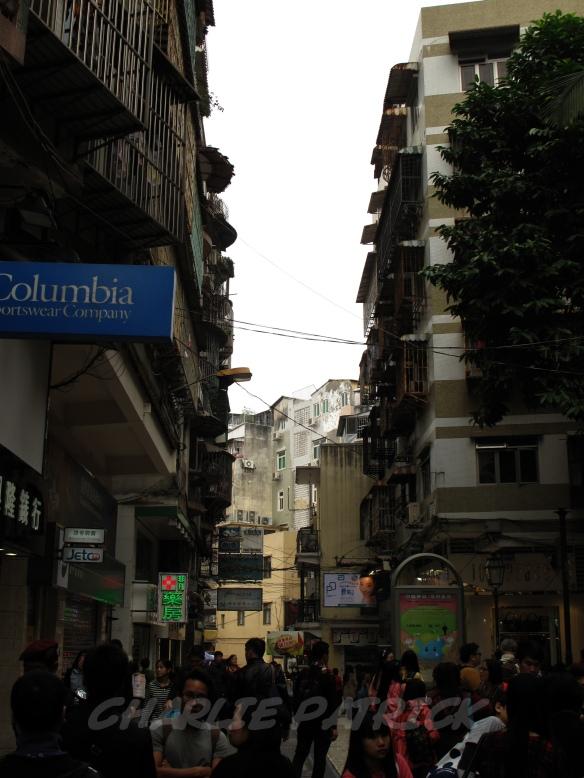 Macau - street crowds