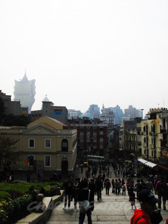 Macau - view from Ruins