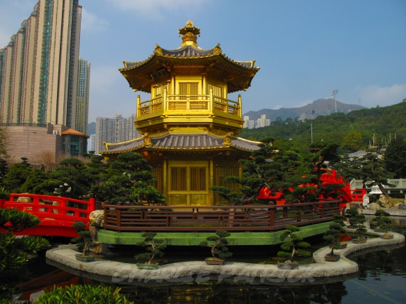 Golden Pagoda, Nan Lian Garden, Kowloon, Hong Kong
