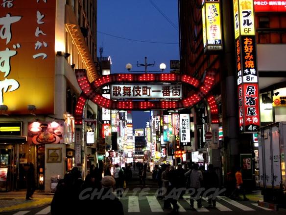 Kabukicho Gate - Tokyo Japan