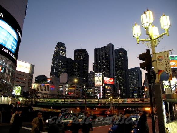 Shinjuku Skyscrapers - Tokyo Japan