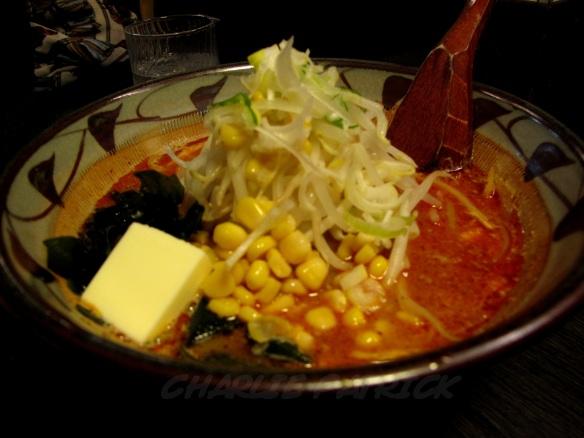 Tokyo, Japan: ramen with butter