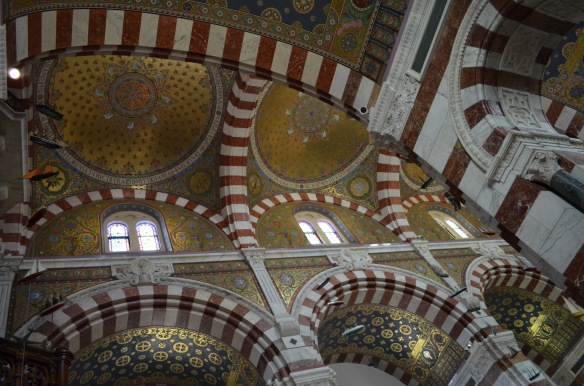 Marseille - Notre Dame de la Garde - Interior