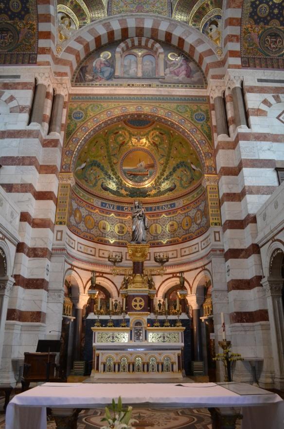 Marseille -Notre Dame de la Garde - Apse