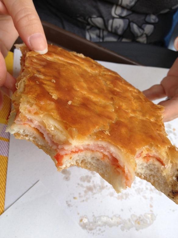 Prosciutto Sandwich in Naples